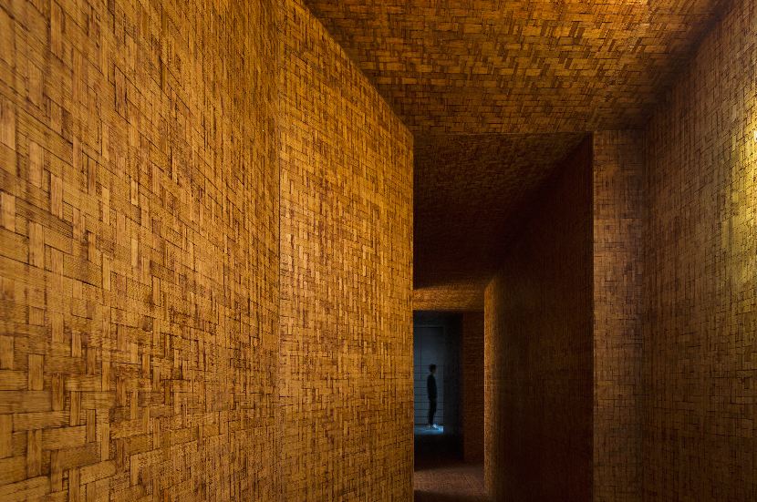 infinite nide uses bamboo and concrete to design 'spiritual' office in changsha, china